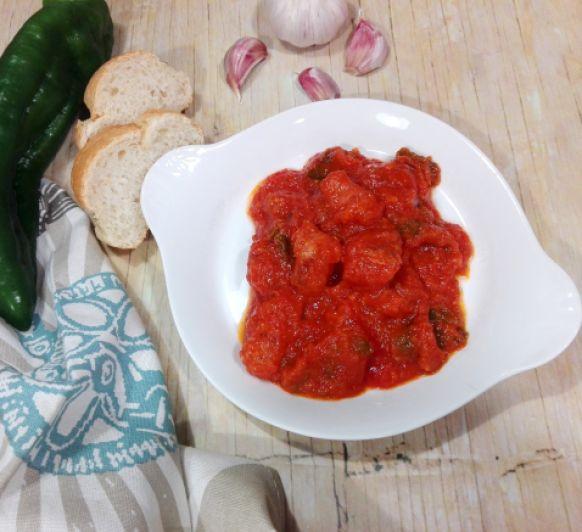 Longanizas con tomate en Thermomix®