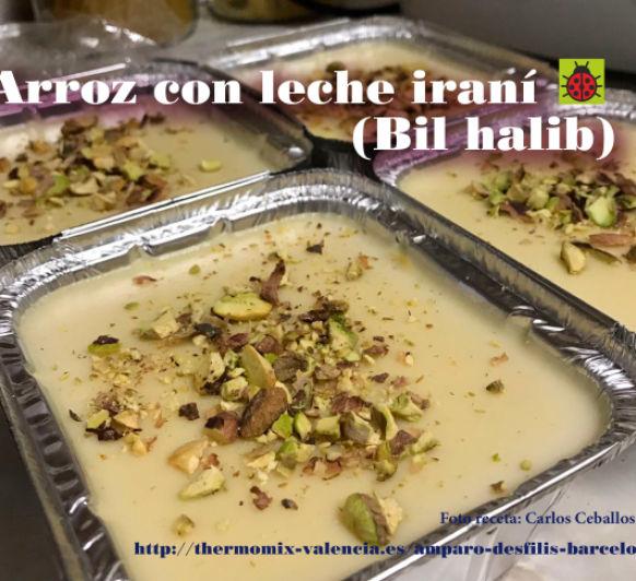 Arroz con leche iraní (Bil halib)