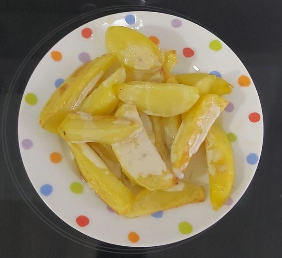 Patatas con salsa de Cabrales (TM31, TM%, TM6)