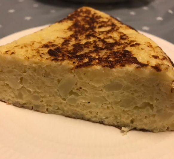 Tortilla de coliflor by Ana con Thermomix®
