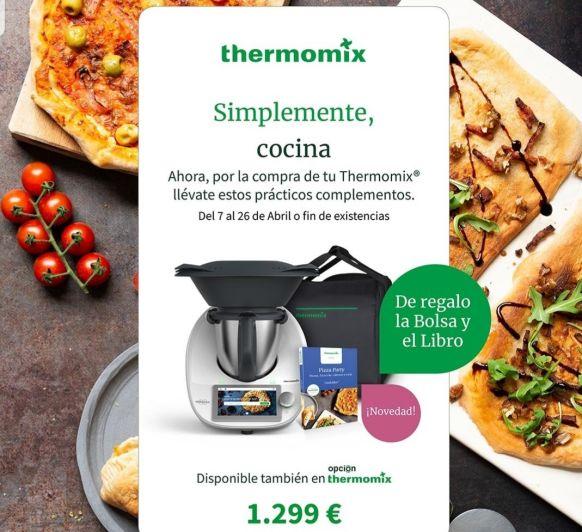 ¡ES TU MOMENTO! Thermomix® TM6 + BOLSA + LIBRO.