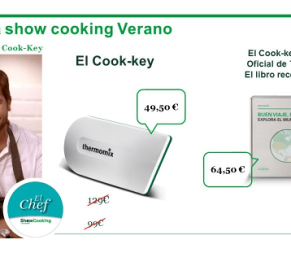 Si, si créetelo consigue ahora tu Cook-Key por solo 49,50€ .¿ LOCURA TOTAL VERDAD?