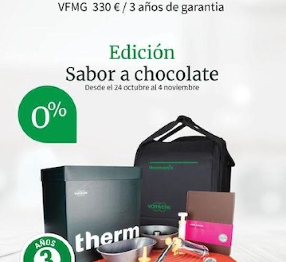 Una estupenda ocasión para poder disfrutar de tu Thermomix® y la edición sabor a chocolate 0% SIN INTERESES