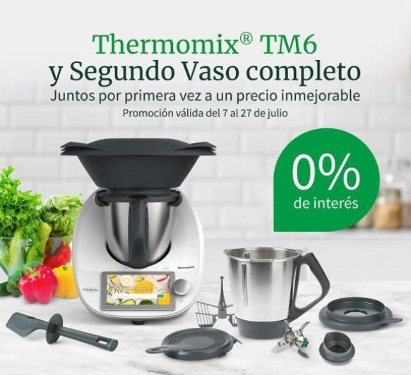 Compra Thermomix® Tm6 ¡con segundo vaso y 0% de intereses!