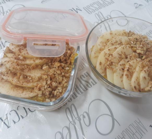 Porridge de avena y manzana TM6 TM5 TM31