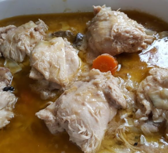 POLLO EN ESCABECHE EN Thermomix®
