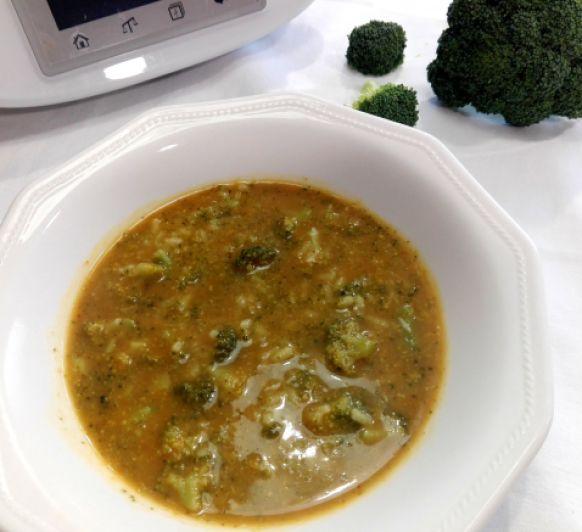 Cómo preparar arroz con brócoli en Thermomix®