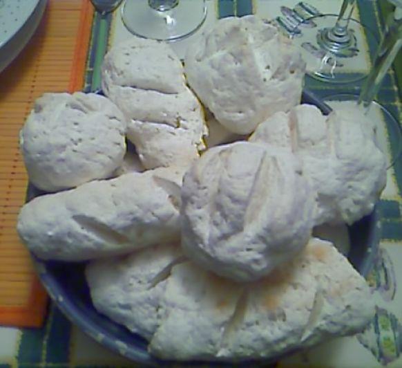 Panecillos sin gluten