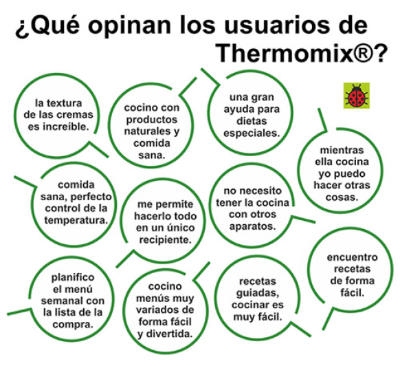 ¿Qué opininan los usuarios de Thermomix® ?