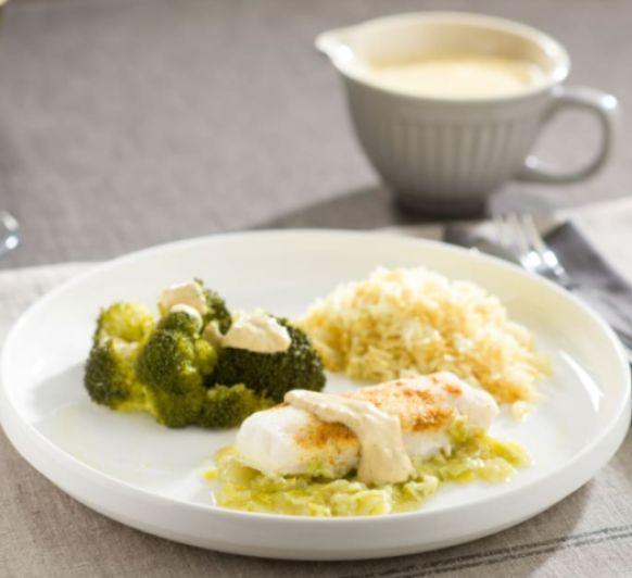 RETO#quedateencasa • Receta n° 14: Merluza al curry con brócoli y arroz