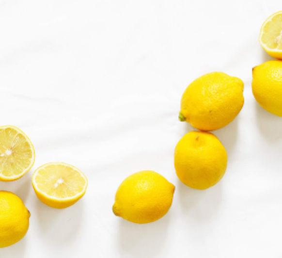 Granizado de limón con cava