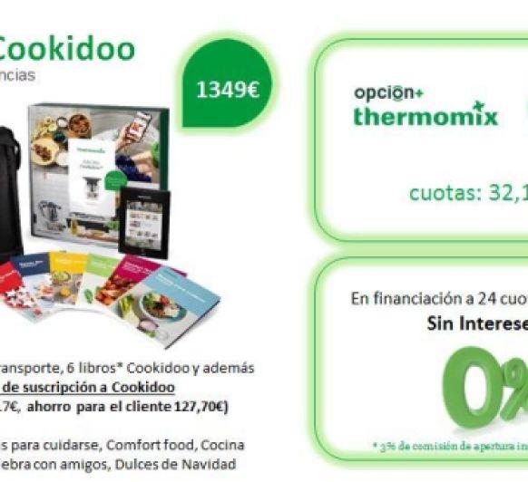 EDICION COOKIDOO - DOS OPCIONES DE FINANCIACION
