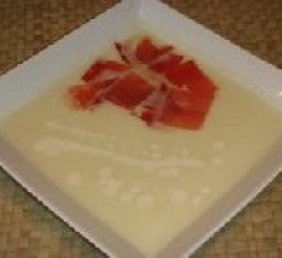 Sopa Fría de Melón Thermomix®