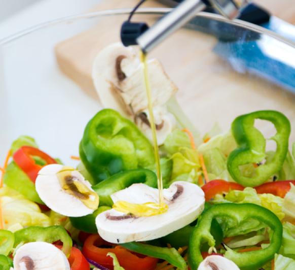 El secreto de hacer una buena ensalada