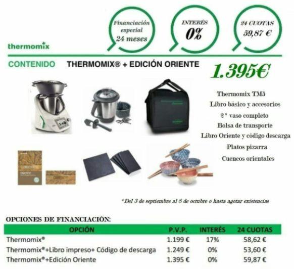 Thermomix® Sin intereses. Segundo vaso completo y bolsa de transporte. Últimos días.