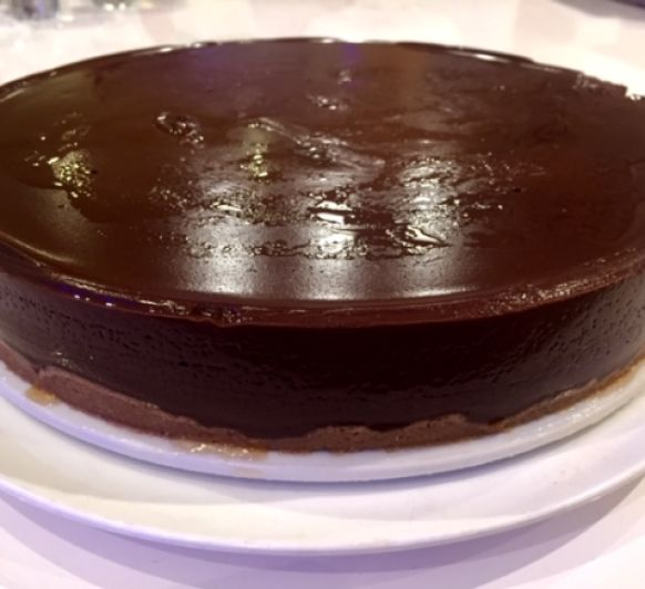 Tarta de chocolate rápida con Thermomix®