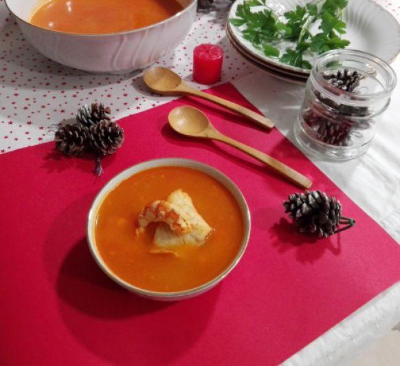 Cómo preparar sopa marinera asturiana en Thermomix®