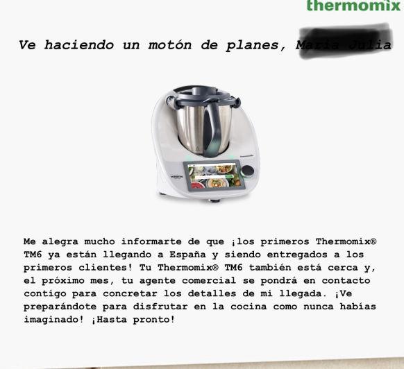 TM6 QUE NERVIOS!!!! Ya has hecho hueco en tu cocina?