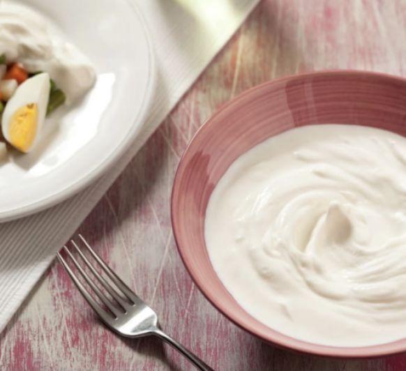 Mayonesa sin huevo (lactonesa) con Thermomix®
