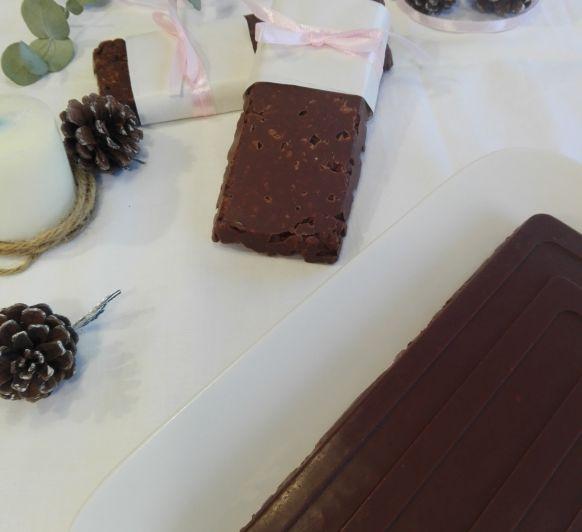 Cómo preparar turrón de chocolate crujiente en Thermomix®