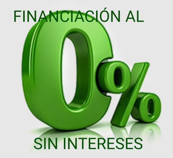 FINANCIACION ESPECIAL 0% SIN INTERESES