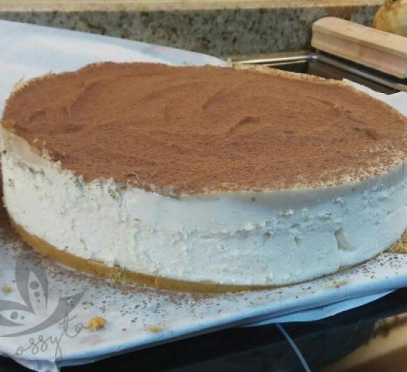 Tarta de Crema de Castañas con Mascarpone y Cacao by SONIA