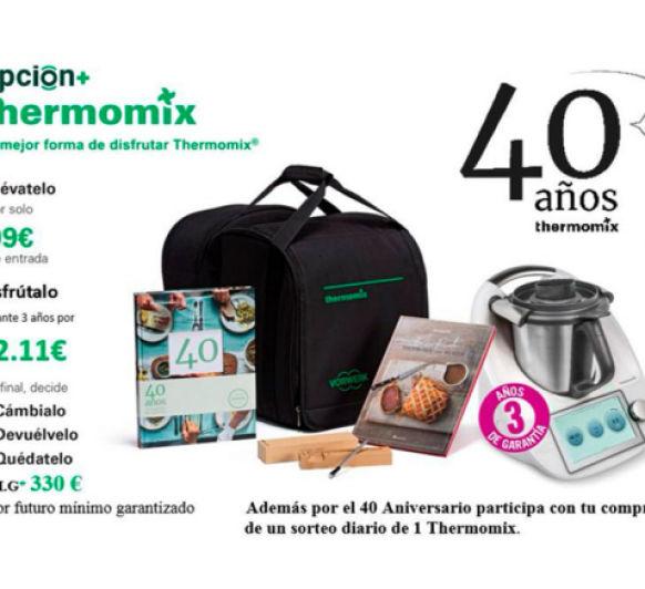 El 40 aniversario de Thermomix® España se celebra a lo grande.