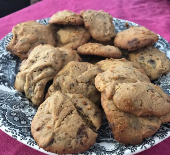 Galletas con pepitas de Chocolate by Olga con Thermomix®