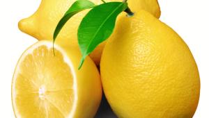 Limones rellenos con crema de limón con Thermomix®
