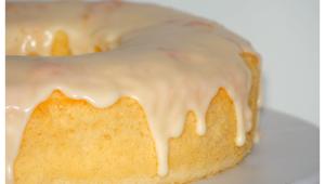 Chiffon lemon cake